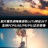 LUTs预设:36种电影胶片暖色调唯美调色LUT预设支持FCPX/AE/PR