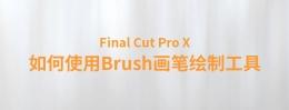 【YAKFX原创录制FCPX教程】Final Cut Pro X 中文教程:(0039)如何使用 FCPX Brush画笔绘制工具