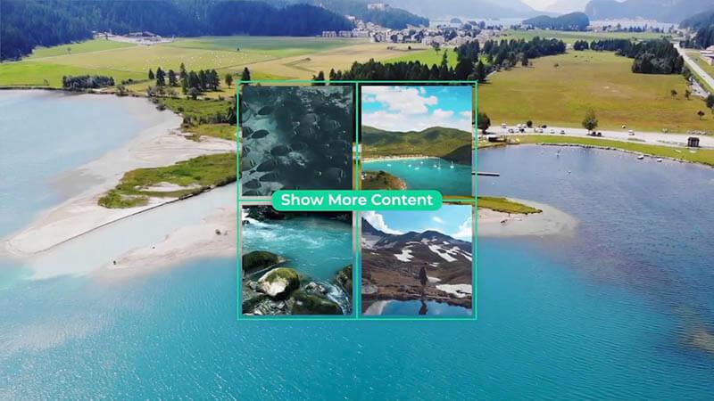 FCPX插件51个视频图像画中画效果预设